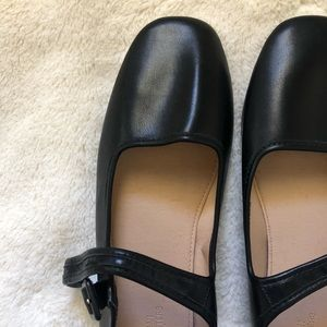 Faux leather Mary Janes